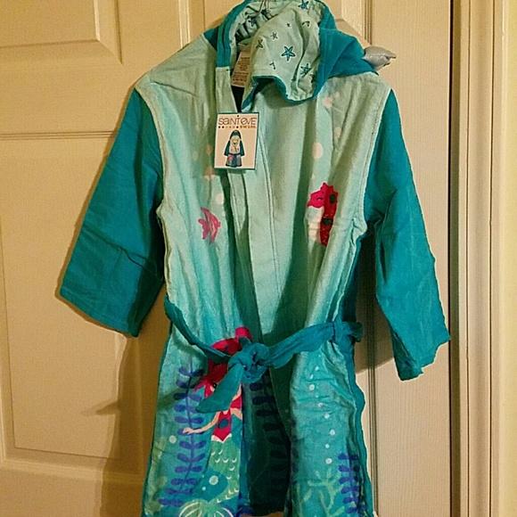 Saint Eve Swim Other - Kids Hooded Robe Towel